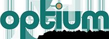Optium | Touching Lives Logo